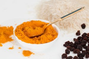 The active ingredient in turmeric is curcumin